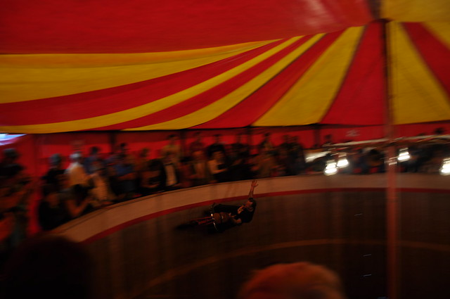 wall of death daredevil