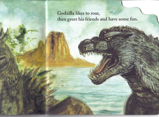 Godzilla likes to Roar! 4