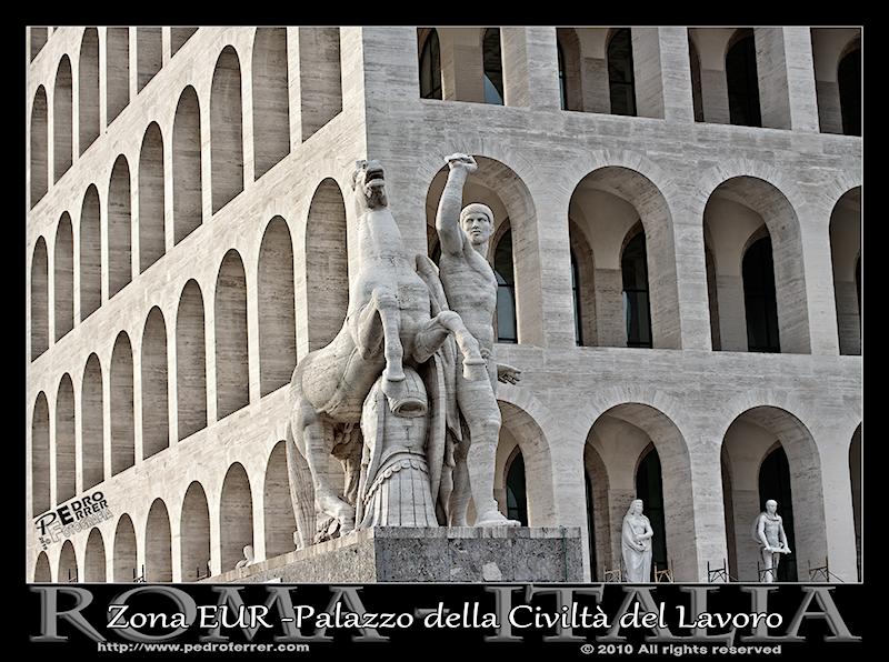Roma EUR - Palazzo della Civiltà del Lavoro