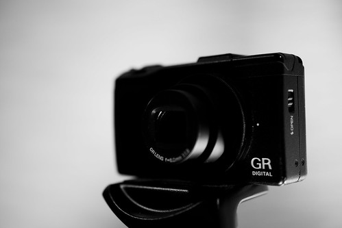 Ricoh GR Digital III and SLIK Tripod