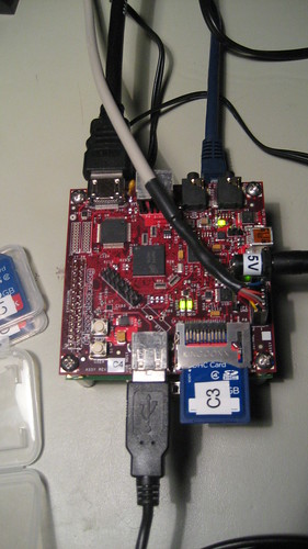 BeagleBoard C4 and Zippy2 Expansion Card