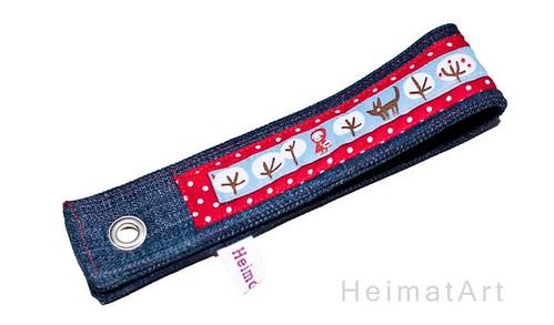 Schlüsselband Rotkäppchen Jeans