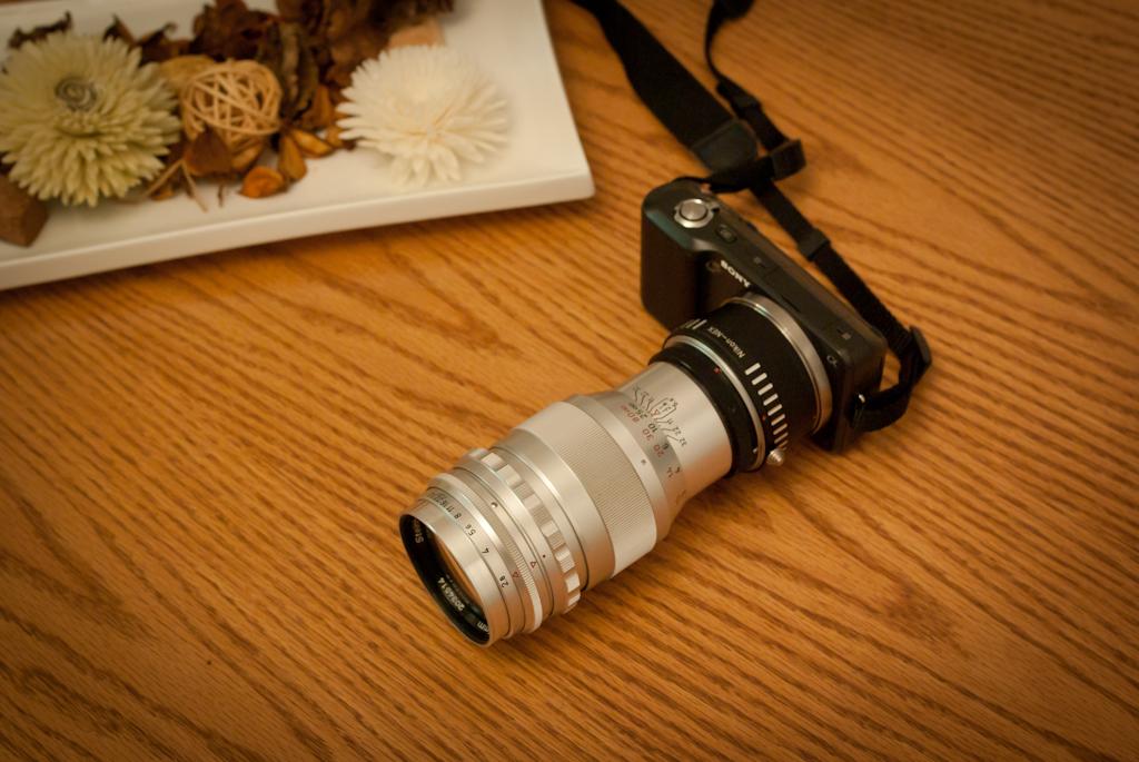 NEX3 Quinar 135mm f2.8