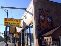 (Barrybu) Tags: street chicago art graffiti snacki