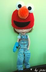 I'll be Elmo today!