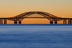 Robert Moses Causeway Bridge Before Dawn - Sunrise (Babylon and Beyond Photography) Tags: ocean bridge sunrise dawn longisland babylon robertmoses babylonvillage