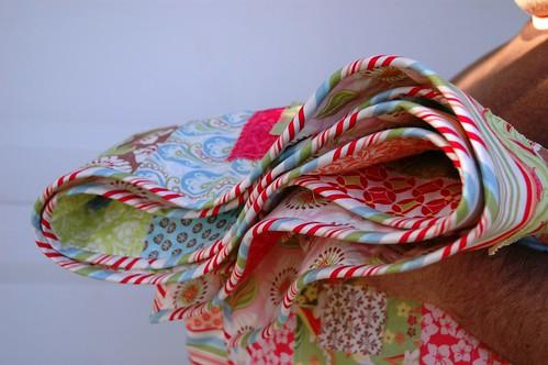 Verna Scruffily Quilt - binding