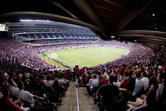 USA vs. Poland  at  Chicago's Soldier Field (Beatrycze.) Tags: chicago game stadium soccer soldierfield pilkanozna mecz