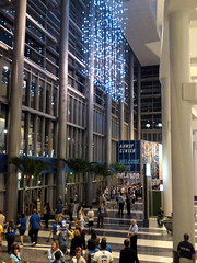 Main Lobby of new Amway Center (msnguy81) Tags: basketball florida arena nba orlandomagic centralflorida orlandoflorida inauguralgame 101010 nbabasketball amwaycenter
