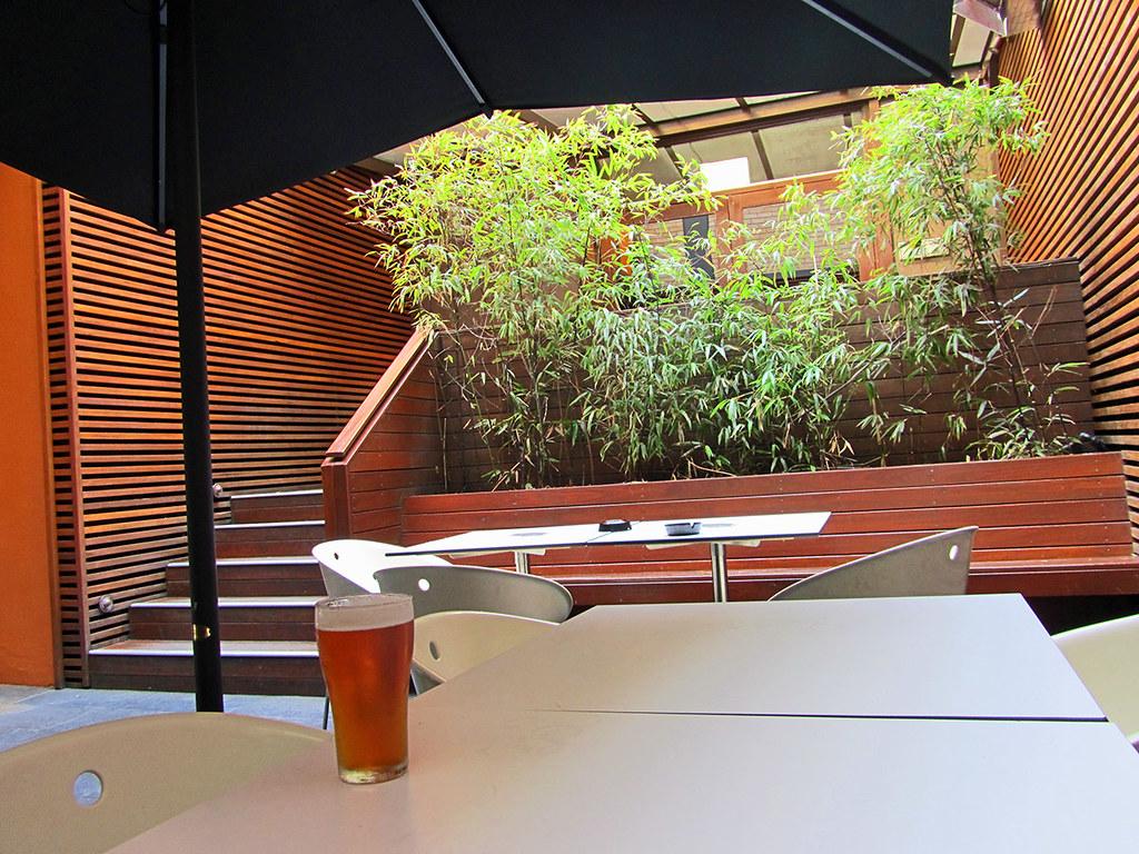 Alfred Hotel, Camperdown, beer garden I