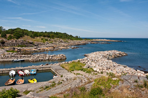 Exploring the island of Bornholm