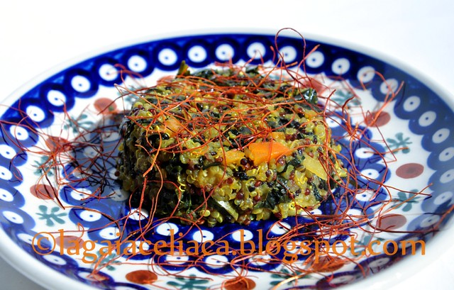 sformato di quinoa