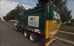 Waste Management Mack LE McNeilus FEL (PublicServiceEquipmentFan) Tags: trash truck garbage front wm management le rubbish end trucks fl waste refuse loader recycling mack inc dustbin sanitation fel frontloader dustcart frontload mcneilus