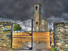 San Michele di Murato (Cavagli Michele) Tags: storm church beautiful corsica panasonic chiesa hdr dmc cancello temporale cattedrale murato gatefrancia