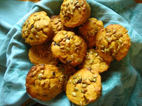 pumpin muffins