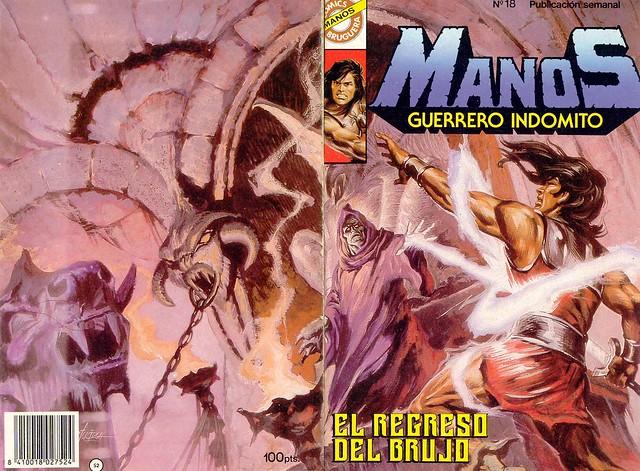 Manos Guerrero Indomito, Cover #18
