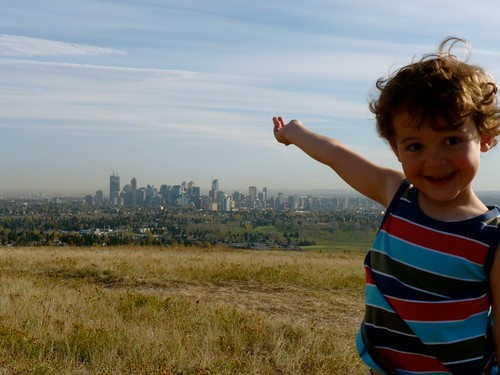 Look Daddy! It's the CITY!