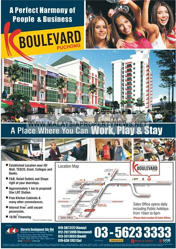K Boulevard Puchong serviced condominiums for sale