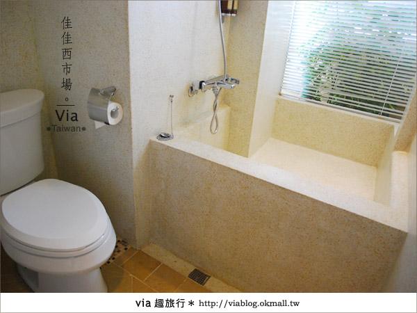 【台南住宿】佳佳西市場旅店~充滿特色的風格旅店!35