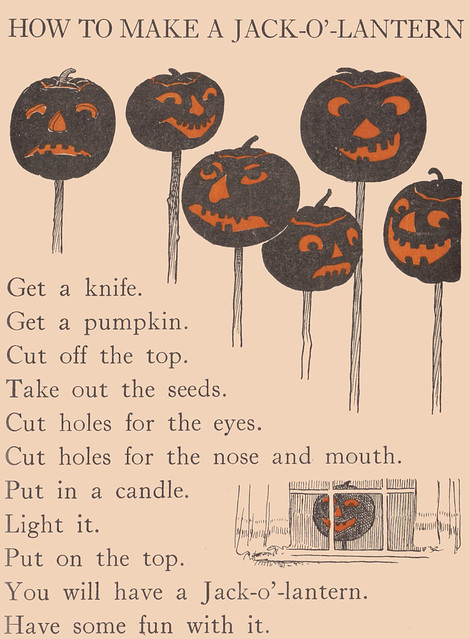 How to make a Jack-O'-Lantern