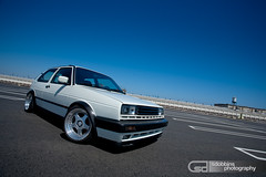 """Mike's Mk2 VW GTI 16V on ITB's and 16"""" OZ Futura Splits - 4630 (Sam Dobbins) Tags: classic vw canon golf volkswagen photography eos is european euro f14 air low 14 ef50mmf14 cc static mk2 5d a3 jetta b5 28 gti a4 audi passat rs bbs cps 70200 f28 lowered 1740 slammed stance vr6 rm 1740l scirocco 16v ccw co"""