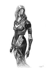 Tali'Zorah (Dorothee Rie) Tags: game pc tali character alien scifi mass effect rollenspiel bioware roleplaygame computerspiel zorah auserirdische