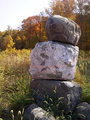 rocks near Greens Fork, Indiana