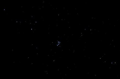 Streaky Pleiades