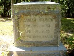 Graves Azariah  1854