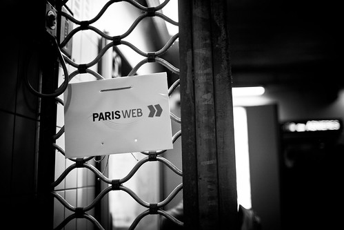Paris Web 2010, day 1