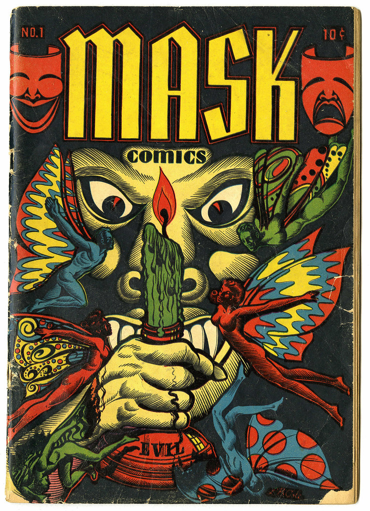 Mask Comics #1 (Rural Home, 1945)