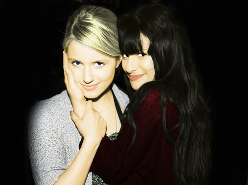 Dianna Agron and Lea