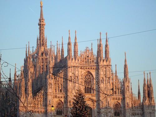Duomo di Milano - por do sol