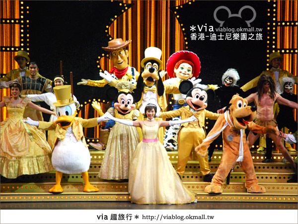 【香港自由行】跟著via玩香港(1)~爆走香港迪士尼樂園42