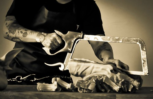 The Fine Art Of Butchering ~ Lindy & Grundy at Artisanal LA ~ October 23, 2010 ~ Los Angeles, CA