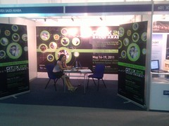 Saudi Arabia Gitex booth