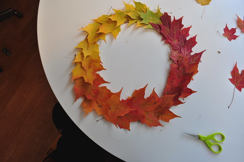 Leaf Wreath - Plan complete