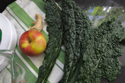 kale apple ginger