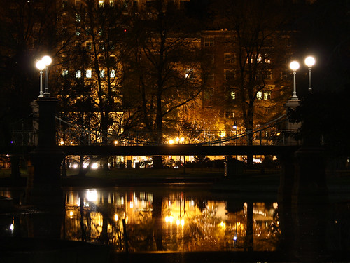 Boston Garden Pond