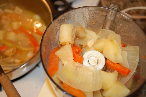 potage to blend