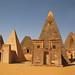 Nubian - Kushite pyramid tombs at Meroe