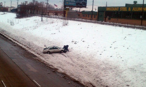 Spin-Out on I-94