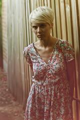 Newtown Chic (Xiangk) Tags: portrait cute fashion alley dress lane indie newtown