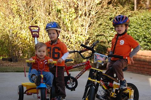 Bike Riding at Pops and Grandma Jayne's