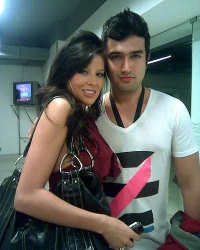 Oscar Mejia con Jenny Osorio