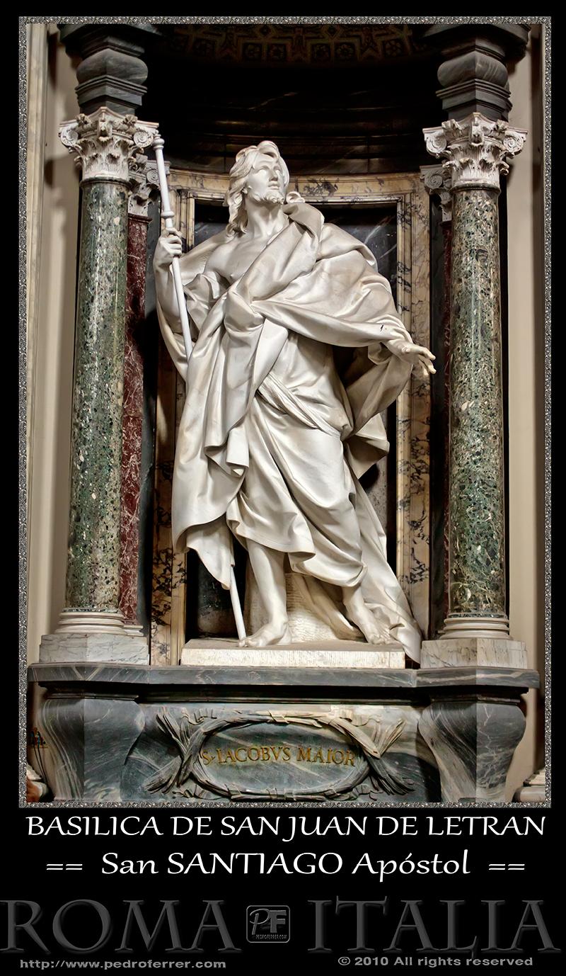 Roma - Basílica de San Juan de Letrán - San Santiago el Mayor Apóstol