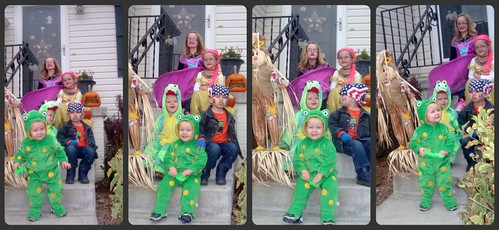 Cousins and costumes