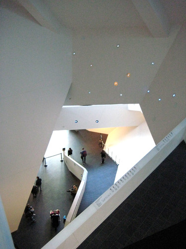 Crazy wall angles at the Denver Art Museum