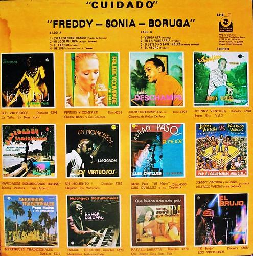 (1980) Freddy . Sonia . Boruga - Cuidado (Back)