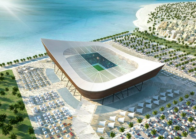 Qatar estadio Al Shamal FIFA Mundial de Fútbol 2022
